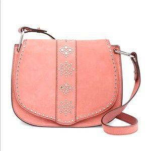 NWOT Rebecca minkoff stargazing saddle bag pink